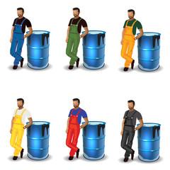 Oil man