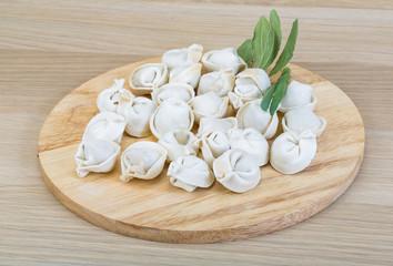 Raw dumplings