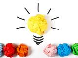 Lightbulb representing a good ideea