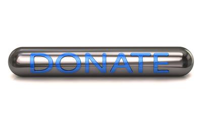 Silver donate icon