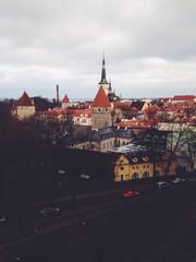 вид на Старый город Таллина