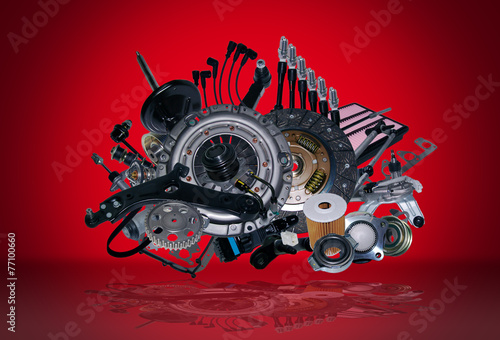 New spare parts - 77100660