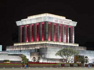 Ho Chi Min Mausoleum in Hanoi, Vietnam