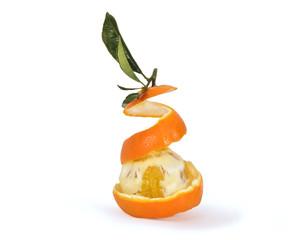 arancia con scoza
