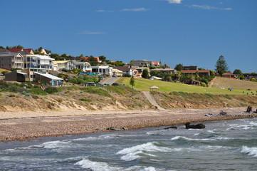 Houses by the beach. Adelaide, Australia