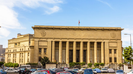 Egyptian High Court of Justice in Cairo