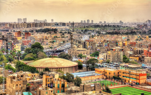 Poster View of Cairo from the Citadel - Egypt