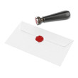 Envelope and red wax