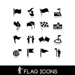 Flag icons set 1