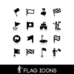 Flag icons set 2