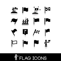 Flag icons set 3
