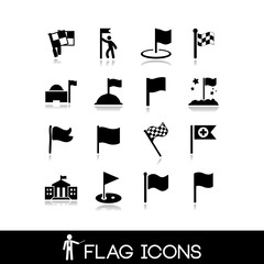 Flag icons set 4
