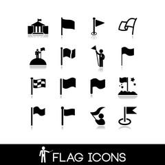 Flag icons set 5