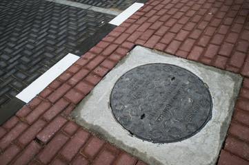 Dubai manhole