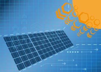 Solar cell power plant