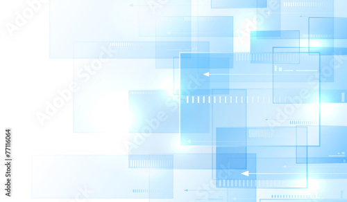 Blue modern background - 77116064