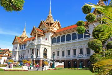 Wat Phra Kaew ฺ temple Bangkok Thailand