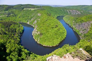 Vltava river, The May view, Czech Republic