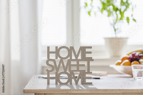 canvas print picture Home Sweet Home
