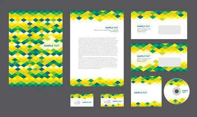Professional corporate identity creative design brandbook