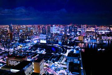 東京下町の夜景
