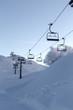 Vogel ski center in mountains Julian Alps