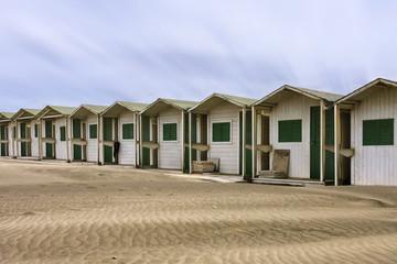 Cabins on the beach, Ostia