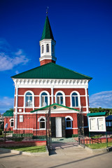 The temple in the city of Uralsk