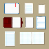 Blank corporate identity set / Notebook