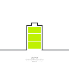 The battery icon
