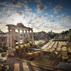 The Roman Forum at dawn, Rome