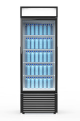 Fridge Drink with water bottles