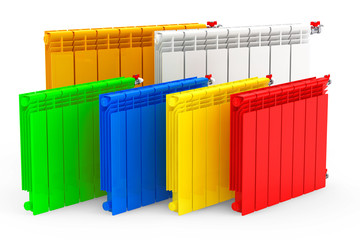 Multicolour Modern Heating Radiators