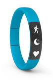 Blue Fitness Tracker poster