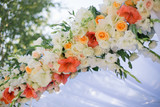 Fototapety Wedding Flowers Decoration