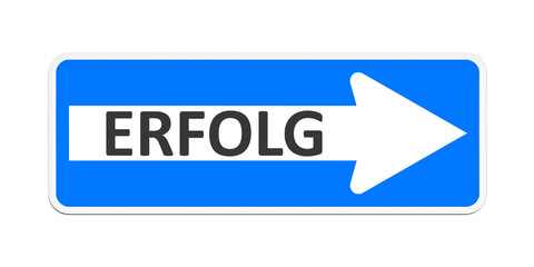 german one way sign