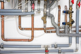 pipes and heating system