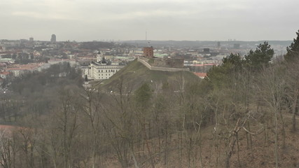 Vilnius. View from Mount of Three Crosses. 5.mov
