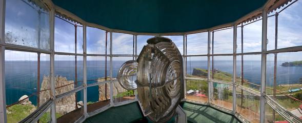 Panorama Gamow lighthouse.