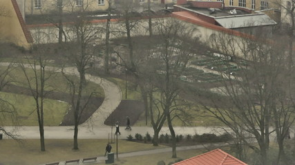 Vilnius. View from Mount of Three Crosses. 3.mov