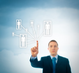 Business Team / Social Network