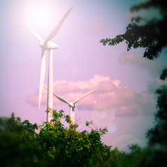 Energiewirtschaft, Windräder
