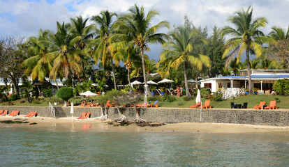 Africa, picturesque area of Mont Choisy in Mauritius
