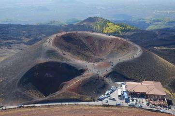 Etna Vulcano cratere