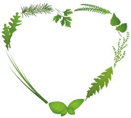 Culinary Herbs Heart