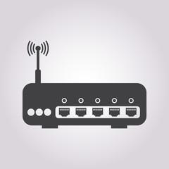 vector illustration of modern icon