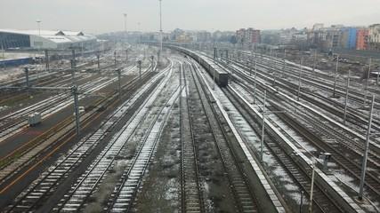 Ferrovia trasporto merci