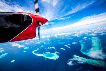 Maldives Indian Ocean - Hotel on the island
