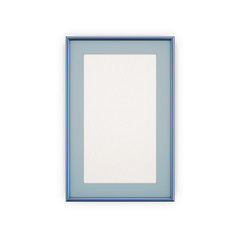 Blue Picture Frames and pictures