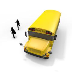 School bus student